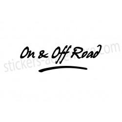 Signature On & Off Road