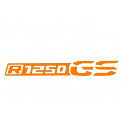 Sticker R1250 GS bagagerie