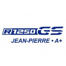 R1250 GS - Nom et Gr. sanguin
