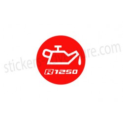 "Sticker ""Oil R1250"""