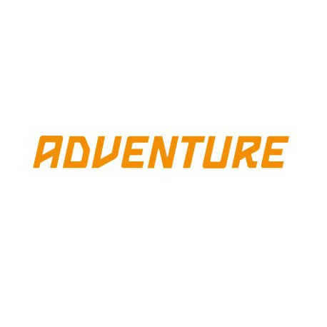 Lettering Adventure KTM style