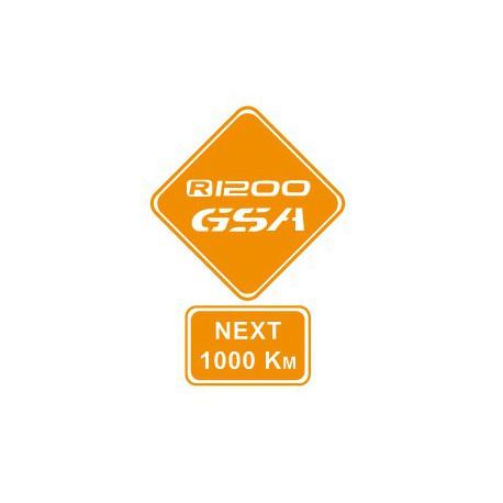"Sticker ""Gsa Next 1000"""