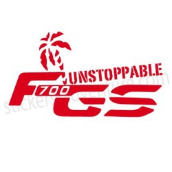 F700 GS Unstoppable