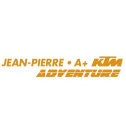 Sticker KTM ADV Prénom et Groupe Sanguin