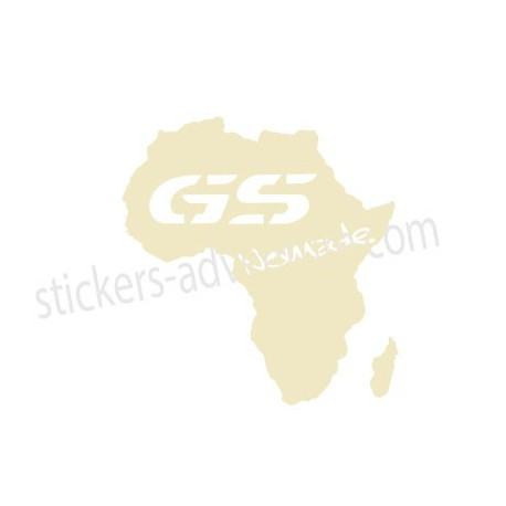 Africa map R1200 GS Nomad
