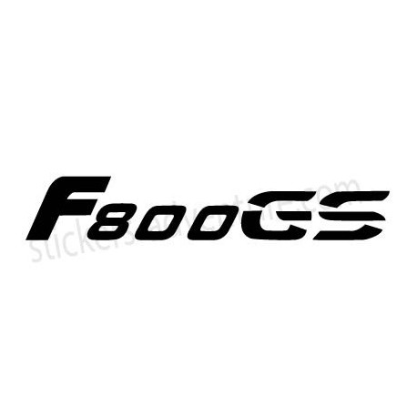 Stickers F800 GS bagagerie V2