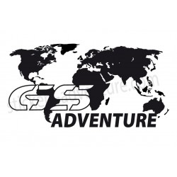 World map GS ADVENTURE