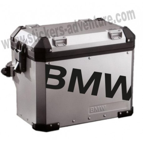 Lettre BMW valise